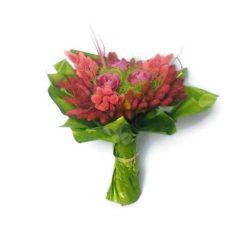 Muharos szárazvirág csokor (mályva)