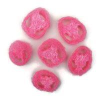 Luffatök szeletek (rózsaszín)