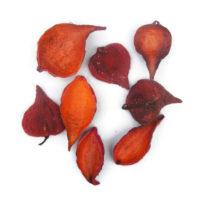 Szárazvirág alapanyag - vaddohány piros színű
