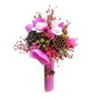 romantikus-szarazvirag-csokor-rozsaszin
