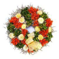 szarazvirag-koszoru-sotet-narancs-fenymaggal