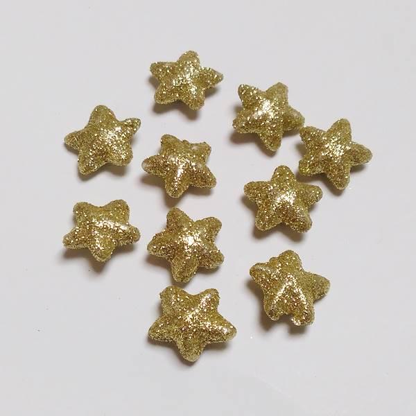 glitteres-arany-csillag