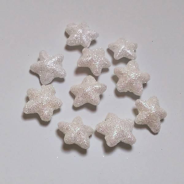 glitteres-feher-csillag